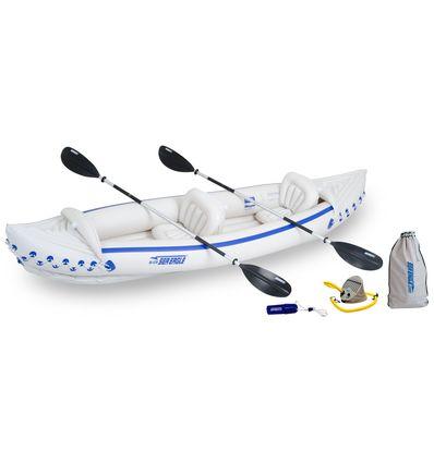 インフレータブル, 安い Sea Eagle 370 カヤック  (1553) カヤック ・ Sport Kayaks「スポーツカヤック」