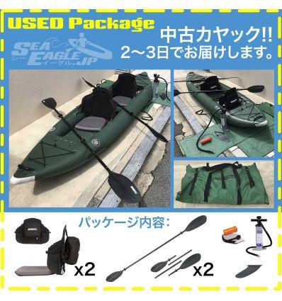 中古カヤック 385fta FastTrack™ アングラーシリーズ ボートカヤック