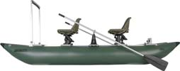 FoldCat™ Pontoon 375 side view